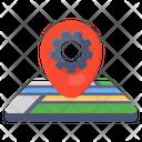Location Management Gps Management Gps Settings Icon
