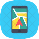 Gps Mobile Tracking Icon