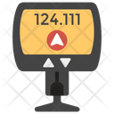 GPS Trip Meter Icon
