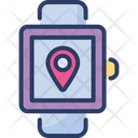 Gps Watch Location Maps Icon