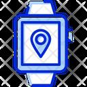 Gps Watch Location Gps Icon