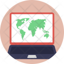 Gps Website Tracking Icon