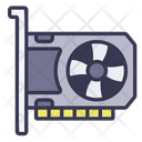 Graphics Card Graphic Processor Icon