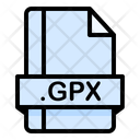 Gpx File File Extension Icon