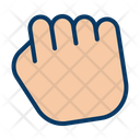 Grab Gesture Hand Palm Icon