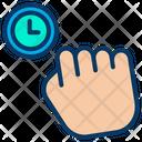 Grab Hand Palm Icon