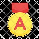 Grade A Grade Score Icon