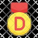 Grade D Grade Score Icon