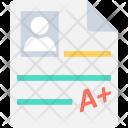 Grade Report Icon