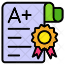 Grade Sheet Mark Sheet Performance File Icon