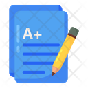 Grade Sheet Mark Sheet Performance File Icon