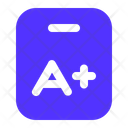 Grade Sheet Test Grade Test Icon