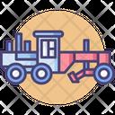 Grader Transport Road Icon