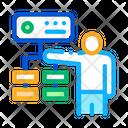 Gradual Algorithm Data Icon
