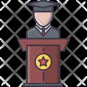 Graduate Student School Icon