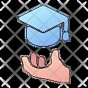 Graduate Graduation Degree Icon
