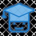 Graduation Study Graduate Hat Icon