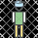 Graduate Student Pupil Icon