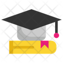 Graduate Cap College Icon