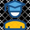 Graduate Postgraduate Student Icon