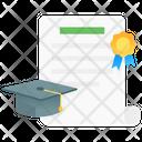 Education Graduate Degree Icon