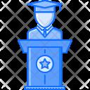 Graduate Student University Icon
