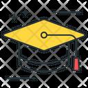 Graduate Gradtuation Cap Degree Cap Icon