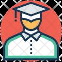 Graduate Scholar Student Icon