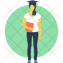 Graduate Student Female Icon