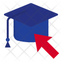 Graduate Online Graduate Graduation Icon