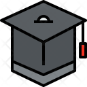 Graduate Education Study Icon