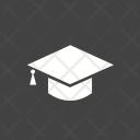 Graduate Cap School Icon