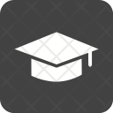 Graduate Cap Degree Icon