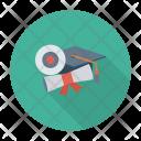 Graduate Education Learn Icon