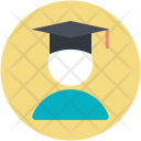 Graduate Student Postgraduate Icon