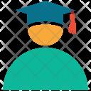 Award Graduate Cap Icon