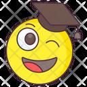 Graduate Emoji Icon