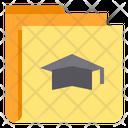 Graduate Folder Icon