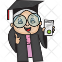 Graduate Grandmother Icon
