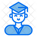 Graduate Man Graduation Men Icon