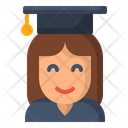 Avatar Graduate Gril Icon