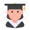 Student School Graduation Icon