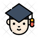 Graduate Bachelor Holder Icon