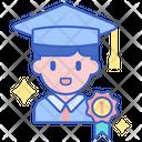 Successful Students Achivement Success Icon