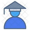 Graduate Student Study Learning Icon