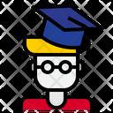 Graduate Student Postgraduate Graduate Icon