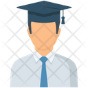 Graduate Student Education Graduate Icon