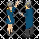 Degree Holder Graduate Student Fresh Graduate Icon