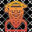 Graduate Mortarboard Avatar Icon