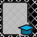 Graduated Student Education Icon